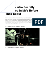 12 Idols Who Secretly Appeared in MVs Before Their Debut