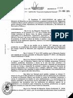 Dec 4199-15 Reglamento Académico Marco (RAM)