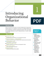 Wiley Organizational Behavior - Chapter 1 - 13th Edition