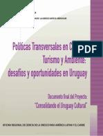 Politicas Transversales en Cultura Turismo Ambiente URUGUAY