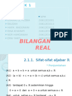 PPT Analisis Real