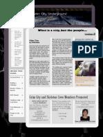 Grim City Newsletter March 2010