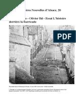 DNAL'histoire derrière la barricade