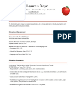 lnoye resume