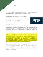 Decreto 4165 de 2011
