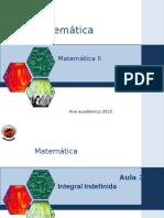 Aula 3 Matematica II 2015