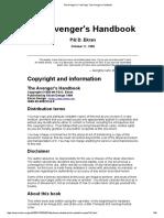 The Avenger's Handbook