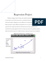 regression project
