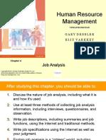 Job Analysis Chapter 4