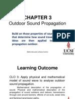 Chap 3 Outdoor Sound Propagation