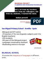 San Miguel School Bilingual Project - Armilla