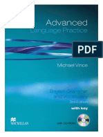 Advanced. Language Practice. Michael Vince