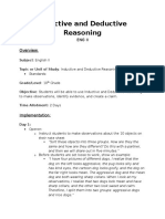 Inductive and Deductive Reasoning Lesson_Portfolio