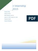 Audit Report BDO