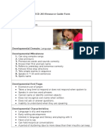 ecd 203 resource guide language