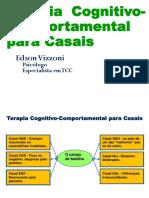 Terapia Cognitivo Comportamental Para Casais Edison Vizzoni IBH Outubro 2014