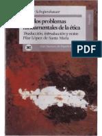 Arthur Schopenhauer-Los Dos Problemas Fundamentales de La Etica, 2.Ed. (1993)