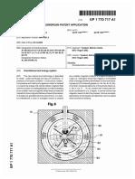 Keshe patente reactorEP1770717A1