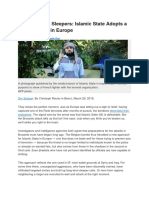 Activating the Sleepers Islamic State Adopts a New Strategy in Europe