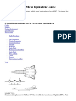 SR71a for FSX Deluxe Operation Guide