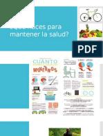 spanish 1 buen provecho para mantener la salud