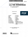 The Incredibles Suite (Arr. Jay Bocook)