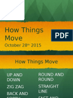 internship how things move ppt