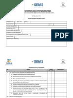 Lista de Cotejo Evaluación Tutorías BGE