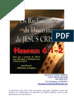 Rudimentos Da Doutrina de Cristo