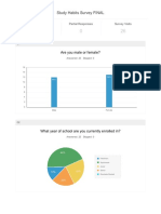 reports study habits survey final  1