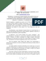 Informe Del 159 Pleno Del Cc Corr