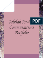 Rebekah Ralwins' Communication Portfolio