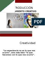 Introducción Al Pensamiento Creativo 10 de Feb 2016