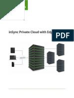 Druva InSync Private Cloud