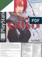 Dino Crisis - Manual - PSX