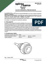Sensor CP10-Instrucciones de Instalación y Mantenimiento (1)