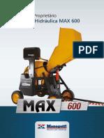 Manual Tecnico Betoneira Max 600 Outubro 2013