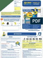 Manual Instrucoes Betoneira