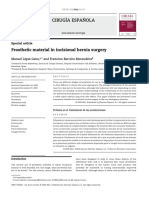 Prosthetic Material in Incisional Hernia Surgery