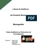 Protocolos de Investigacion
