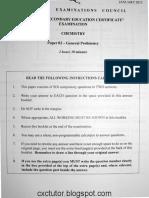 Csec.chem.Paper02.Jan2015