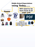 coat-jacket-backpack expectation