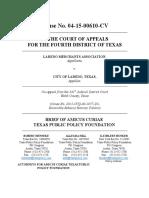 TPPF Amicus Brief Laredo Merchants