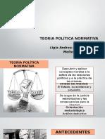 TEORIA POL+ìTICA NORMATIVA