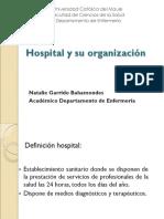 Hospital y Su Organización