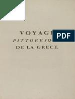 Choiseul-Gouffier (Gabriel Marie) Voyage pittoresque de la Grece 1782