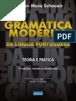 Leia Algumas Paginas Da Obra Gramatica Moderna