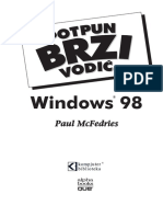 Windows 98 PBV - Sadrzaj