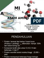 Asam Amino Dan Protein 2015