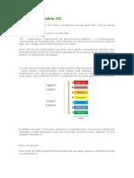 Capas Del Modelo OSIcon Ejemplo